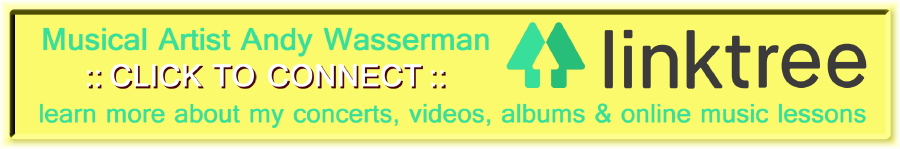 Andy Wasserman LinkTree Link Banner